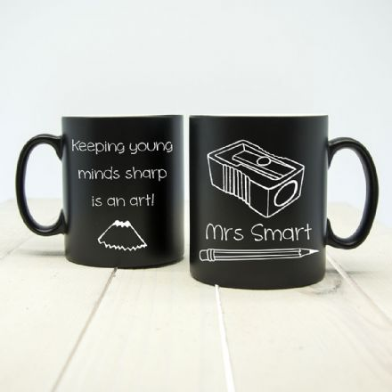 Keeping young minds sharp! Matte coloured mugs